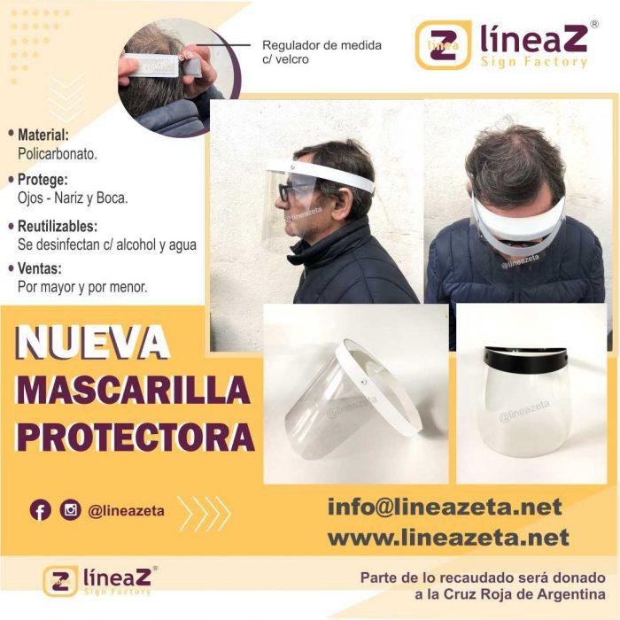 NUEVAS MASCARAS PROTECTORAS LINEA ZETA